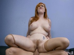 Brazzers – Sexy redhead with big tits fucks in office